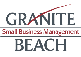 This image has an empty alt attribute; its file name is granite-beach-small-business-management.jpg